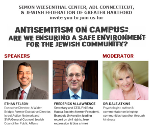 Antisemitism on Campus: Are We Ensuring a Safe Environment for the Jewish Community?