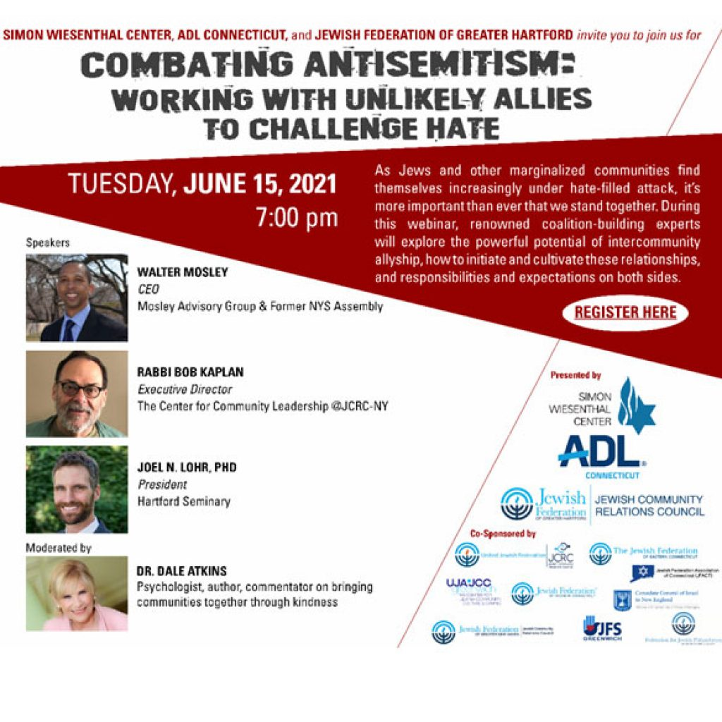 Combating Antisemitism - Working with Unlikely Allies to Challenge Hate