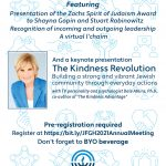 Jewish Foundation of Greater Hartford 2021 Annual Meeting and Celebration